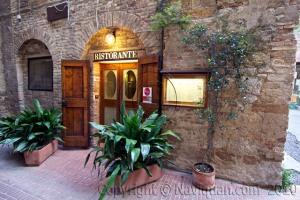 Dorando, Slow Food, San Gimignano