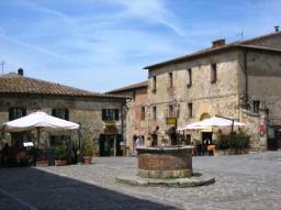 Restaurant Il Pozzo, Main Square, MOnterggione