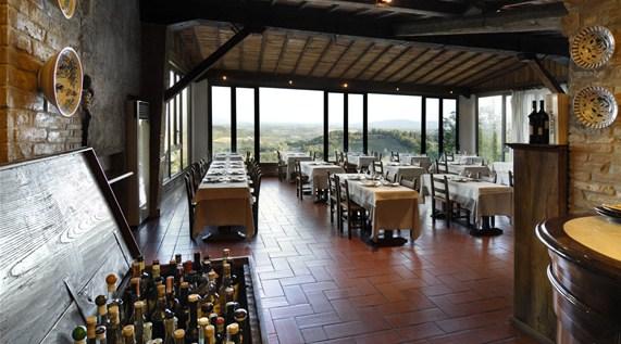 Unbeknow dining room hotel bel soggiorno san gimignano