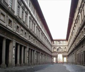Uffizi Gallery Courtyard