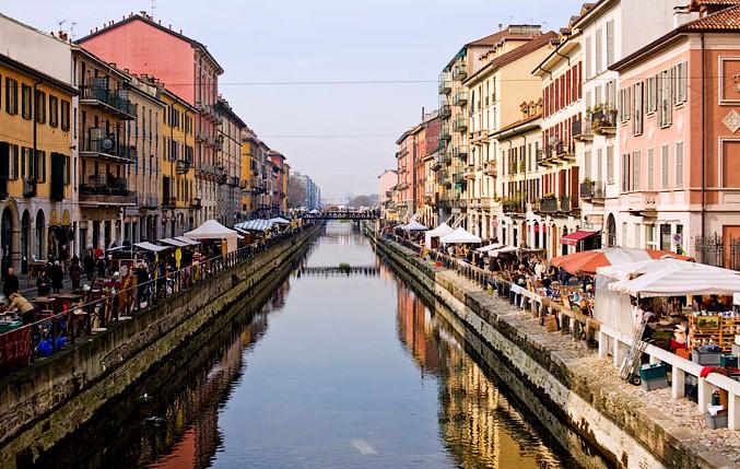 and finally, the Navigli Neighborhood