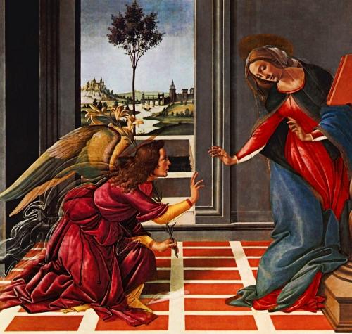 Bottecelli Annunciation