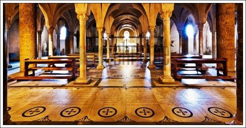 The Crypt San Miniato al Monte Florence Italy