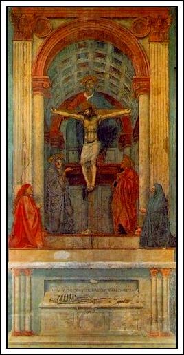 Masaccio, Trinity1427