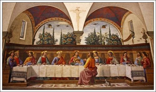 Last SupperDomenico Ghirlandaio 1486 Monastery San Marco