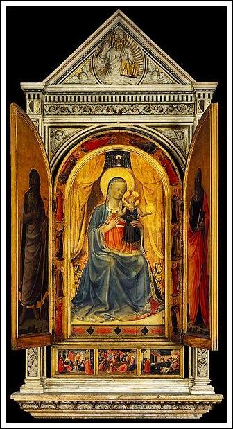 Tabernacolo dei Linaioli, 1432 - 1433Fra AngelicoPilgrim's Hospice San Marco Florence