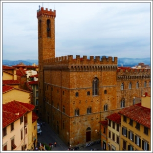 Bargello View from Uffizi Firenze