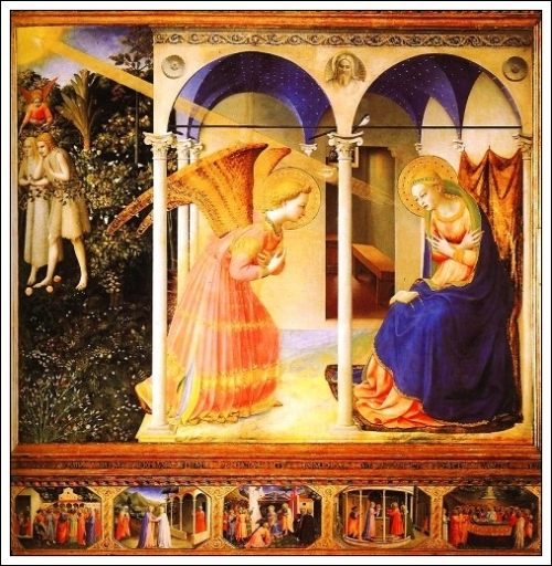 Fra AngelicoAnnunciation1438 - 1445