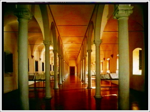 Library after MichelozzoMonastery of San Marco