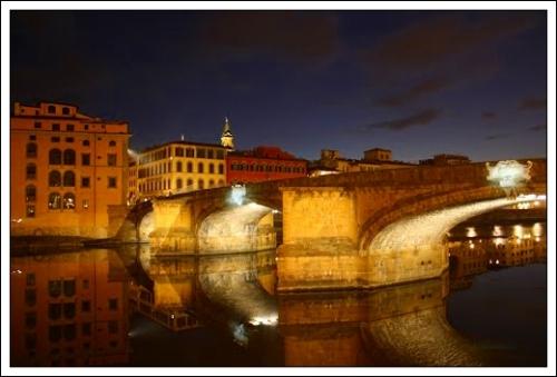 Evening View-Ponte Santa Trinita