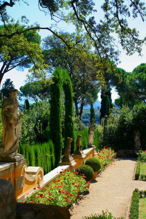 A Garden CornerLa Pietra Florence