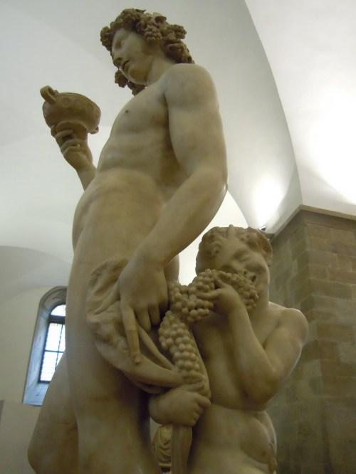 MichelangeloBacchus, 1496-1497