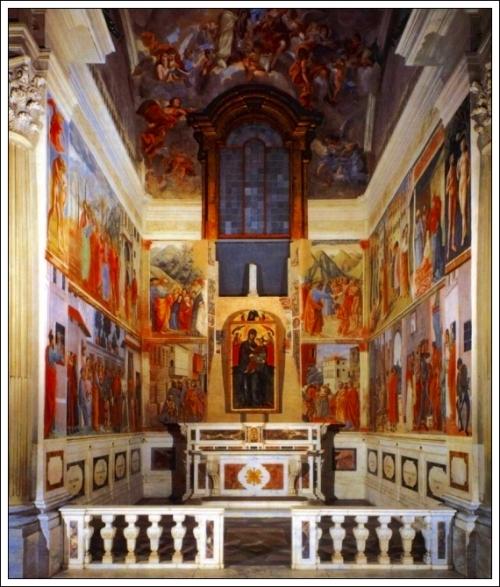 Branacci ChapelSanta Maria della Carmine, Florence