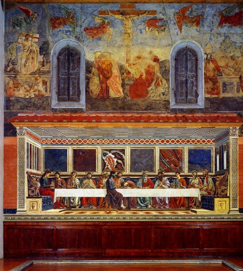 Domenico GhirlandaioLast Supper ca. 1447Convent of Sant'Apollonia