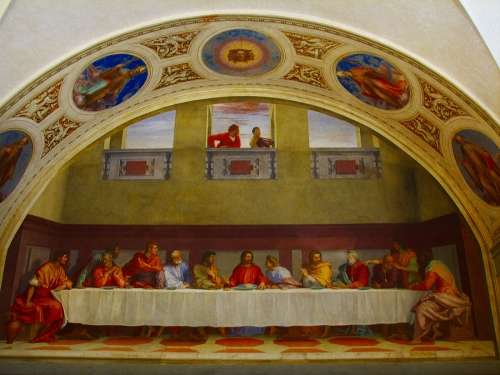 Andrea del SartoLast Supper, ca. 15159 - 1527San Salvi