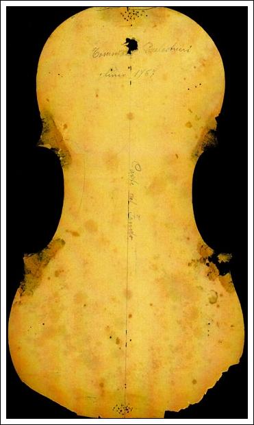 A Bisaich Violin Pattern