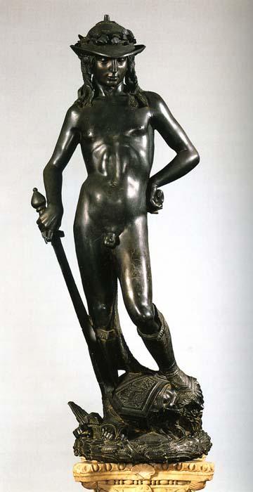 Donatello, David, 1440