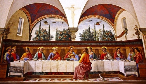 Domenico GhirlandaioLast Supper, ca. 1482San Marco