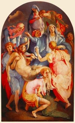 Jacopo PontormoDeposition, 1568Cappela Capponi, Santa Felicita