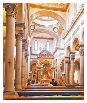 Interior, Santo Spirito