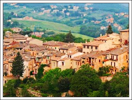 Umbrian Valley and Village