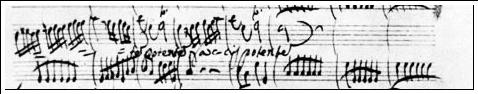 Vivaldi Score Original