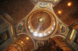 Dome InteriorSt. Peter;'s Basilica Rome