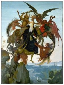 Torment of St. AnthonyMichelangeloca. 1488
