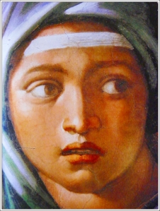 Delphic SybilDetail, Sistine ChapelVatican, Rome