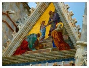 Glass Mosaic, FranchiFacade Duomo Siena