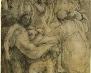 Study for DepositionJacopo da Pontormo, 1524