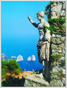View from Monte Solario Capri