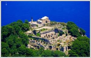 Villa Jovis Church of Santa Maria del Soccorso Capri