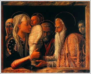 Andrea Mantegna Presentation at the Temple 1460