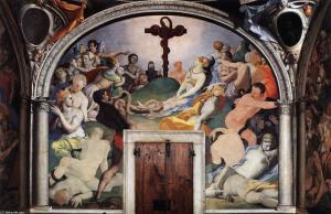 Agnolo Bronzion The Brazen Serpent, Fresco Chapel of Elenora of Toldeo Palazzo Vecchio
