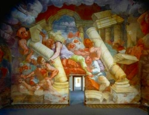 Sala dei Giganti View Palazzo Te, Manuta
