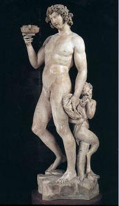 Bacchus Michelangelo Bargello, Florence