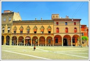 Palazzo dell Archiginassio Bologna