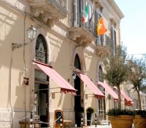 Entrance Palazzo Failla Hotel Modica