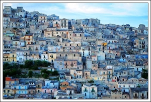 Evening View of Modica Sicily