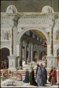 Presentation of the Virgin at the Temple Fra Carnevale, Circa 1467