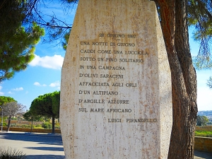 28 June 1897 Marker Pirandello's Home