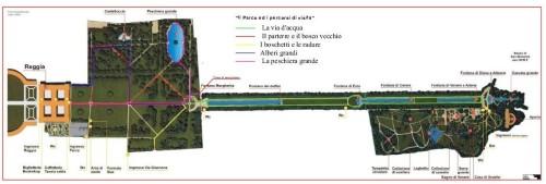 Map  Reggia di Caserta