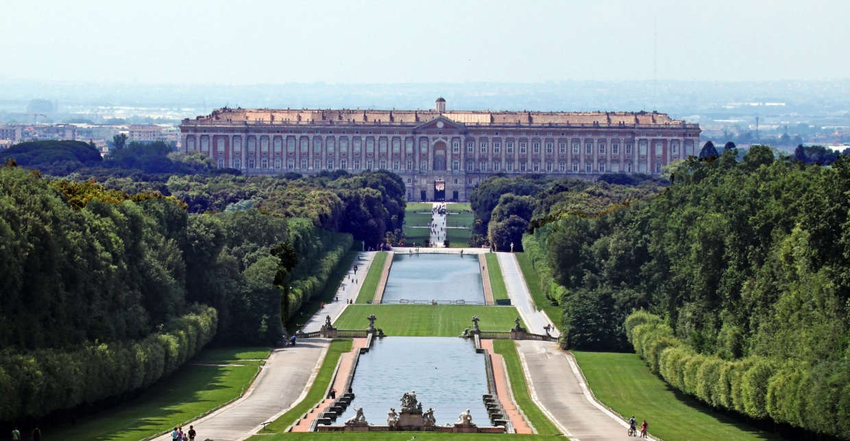 Image result for Palace of Caserta in Caserta, Italy