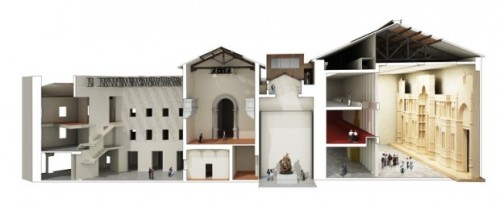 Architect Rendering Museum of the Works of the Duomo