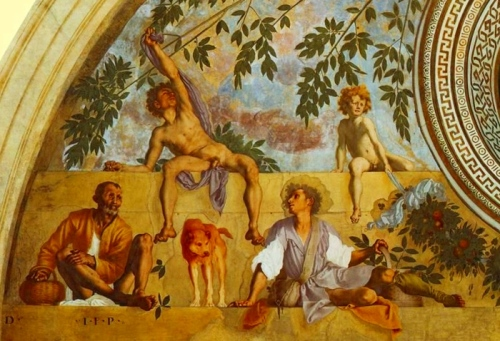 Image result for Poggio a Caiano to see the Villa Medicea pontormo