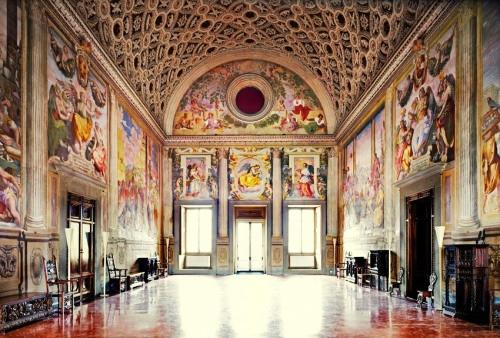 Room of Pope Leo X Poggio a Caiano