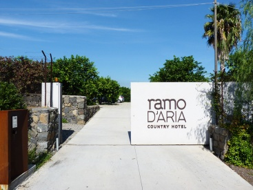 Ramo d'Aria Main entrance